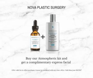 NOVA Plastic Surgery skinceuticals special